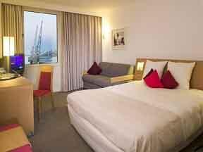 The Bedrooms at Novotel London Excel