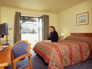 The Bedrooms at Stoneleigh Park Lodge