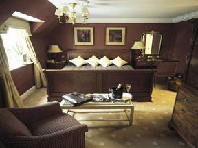 The Bedrooms at Rowhill Grange Hotel and Utopia Spa