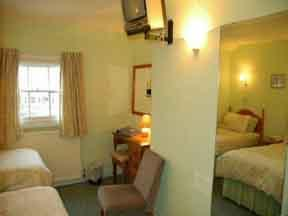 The Bedrooms at Abbots Mead Hotel