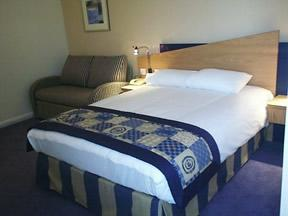 The Bedrooms at Express By Holiday Inn Oxford Kassam Stadium