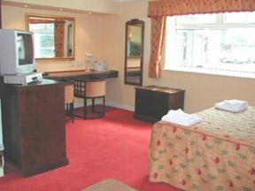 The Bedrooms at The Greyhound Hotel