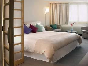 The Bedrooms at Novotel Cardiff Centre