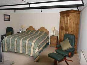 The Bedrooms at Coach House Cottage