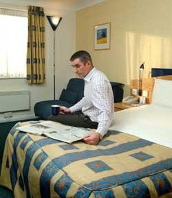 The Bedrooms at Express By Holiday Inn Newport