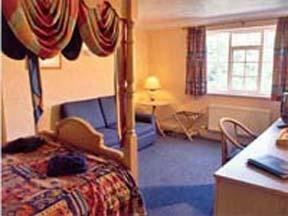 The Bedrooms at Lyncombe Lodge Hotel