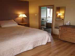 The Bedrooms at Mackays Rooms And Restaurant
