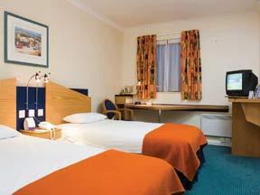The Bedrooms at Express By Holiday Inn Inverness