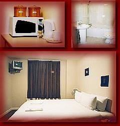 The Bedrooms at Crownwall Hotel
