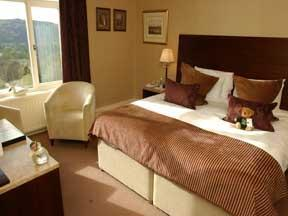 The Bedrooms at Linthwaite House Hotel