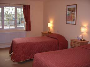 The Bedrooms at The Railway Hotel