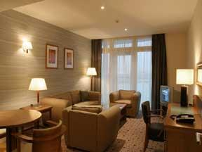 The Bedrooms at Ramada Hotel and Suites London Docklands