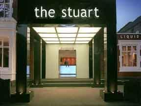 The Bedrooms at The Stuart Hotel