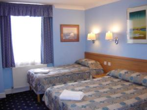 The Bedrooms at Belvedere Hotel
