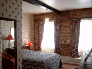The Bedrooms at The Rose And Crown Hotel