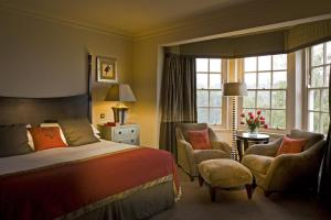 The Bedrooms at Wood Hall Hotel and Spa