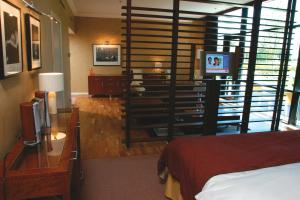 The Bedrooms at The Glasshouse boutique hotel