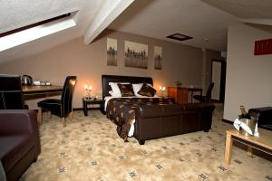 The Bedrooms at Hotel St Pierre