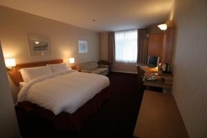 The Bedrooms at Future Inn Cardiff Bay