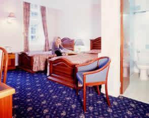 The Bedrooms at Buchanan Hotel