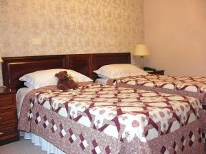 The Bedrooms at Hey Green Country House Hotel
