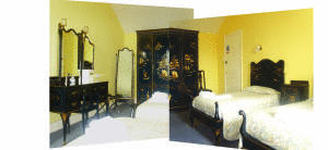 The Bedrooms at Deganwy Castle Hotel