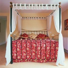 The Bedrooms at Waveney House Hotel