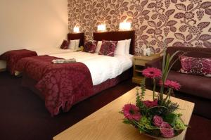 The Bedrooms at Marks Hotel