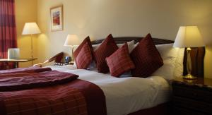 The Bedrooms at Best Western Palace Hotel and Spa