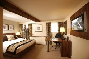 The Bedrooms at Best Western Reading Moat House