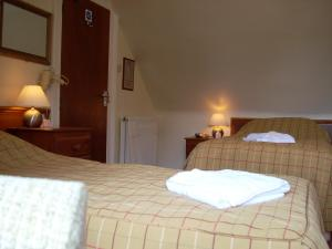 The Bedrooms at The Stag Hotel