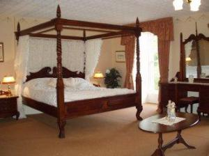 The Bedrooms at Castell Malgwyn Hotel