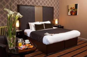 The Bedrooms at Best Western Glasgow city hotel