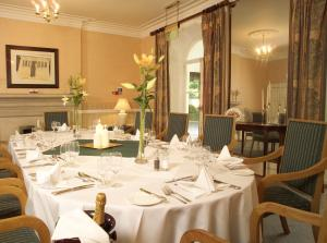 The Bedrooms at Sudbury House Hotel
