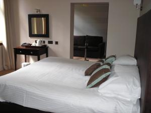 The Bedrooms at Rosslea Hall Country House Hotel
