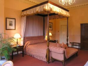The Bedrooms at Tre-Ysgawen Hall, Country House Hotel and Spa