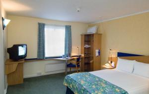 The Bedrooms at Express By Holiday Inn Aberdeen