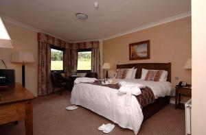 The Bedrooms at The Queensferry Hotel