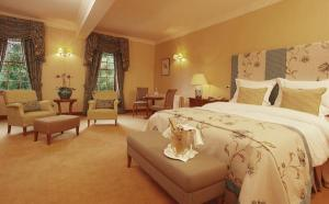 The Bedrooms at Nunsmere Hall Hotel