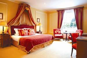 The Bedrooms at Rowton Hall Hotel
