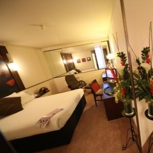 The Bedrooms at Ramada Glasgow Airport