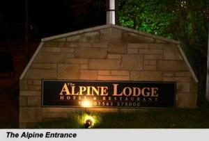 The Bedrooms at The Alpine Lodge (Airport Parking)