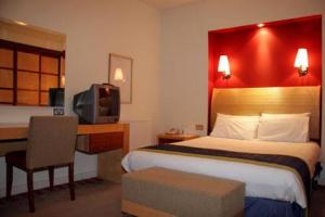 The Bedrooms at Dragon Hotel