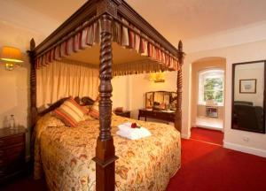 The Bedrooms at Castle Venlaw