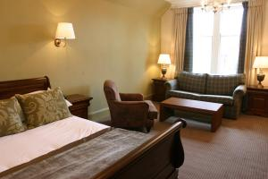 The Bedrooms at Scotlands Hotel
