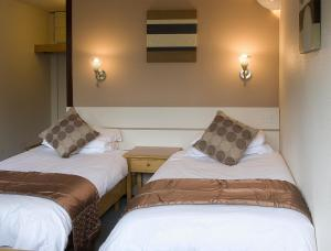 The Bedrooms at Restover Lodge Hotel