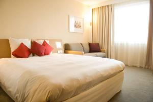 The Bedrooms at Novotel Glasgow Centre
