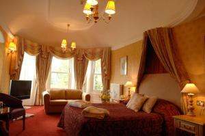 The Bedrooms at Chilworth Manor Hotel